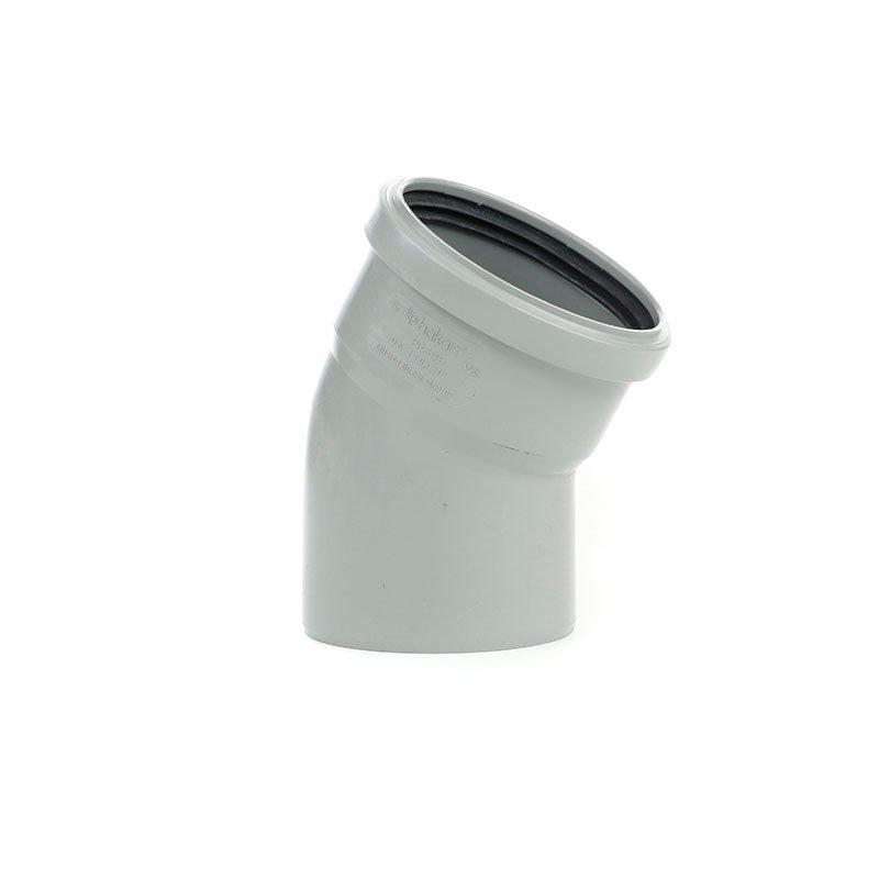 Viemärin kulma 30°/110 mm Harmaa