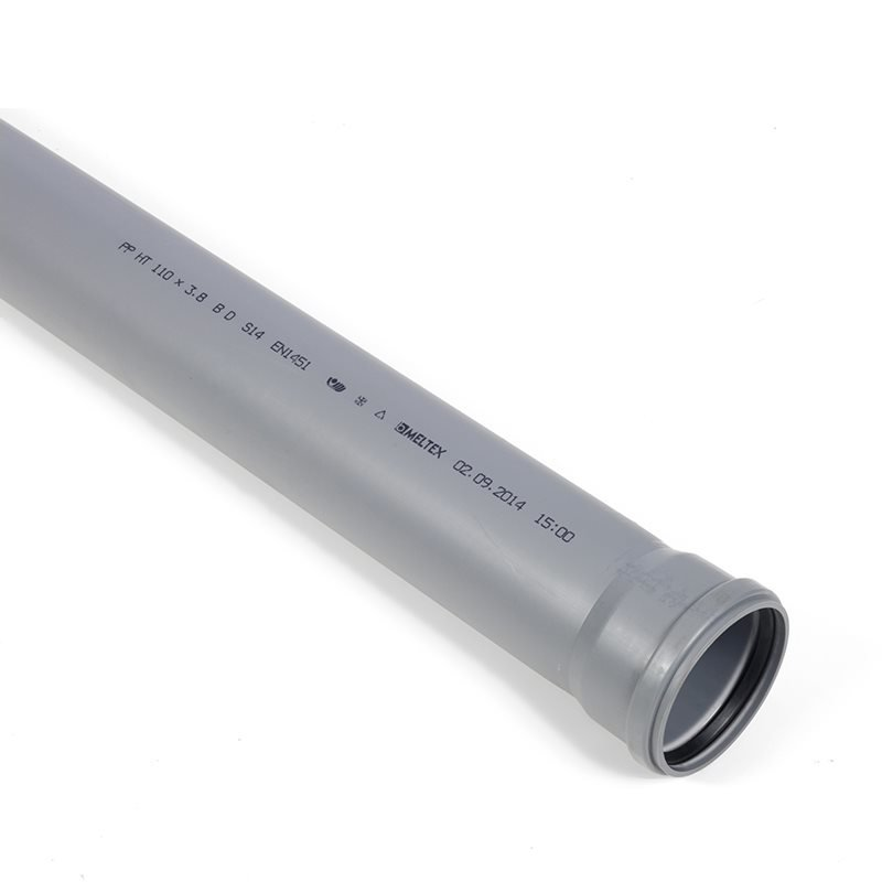Viemäriputki 110 mm / 6 m Harmaa